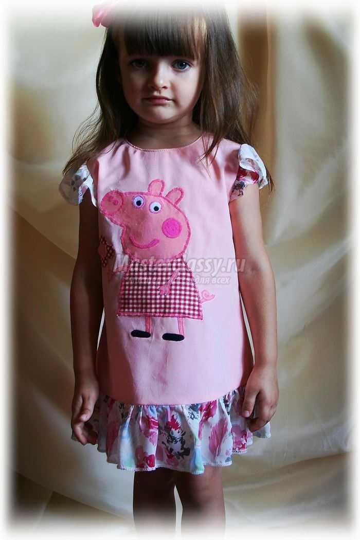 Летние платья для девочек: шьем сами