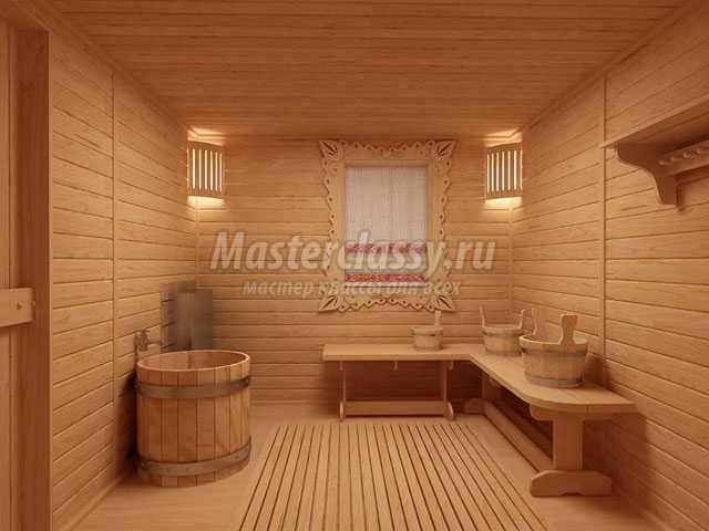 Современная баня и ее оформление