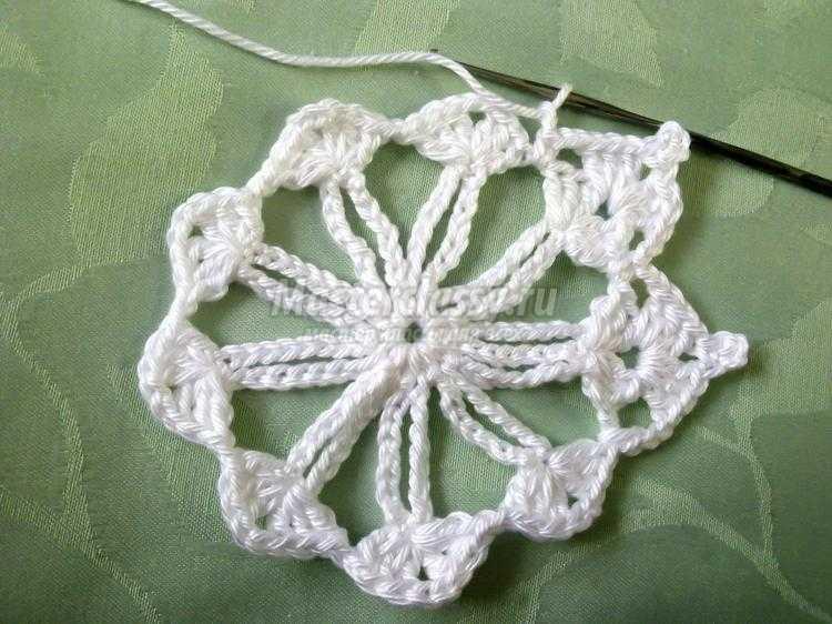ирландское кружево. Мотив ажурный цветок