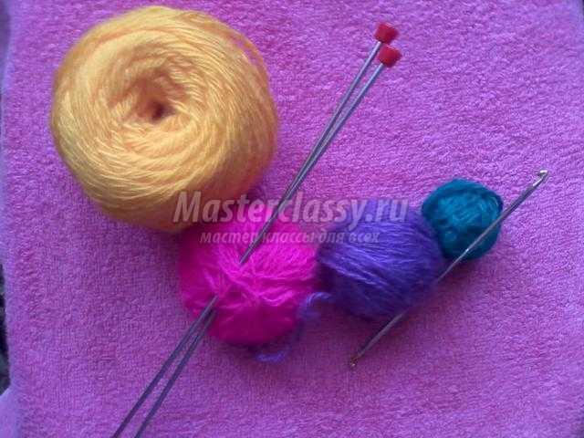 вязание прихваток спицами и крючком
