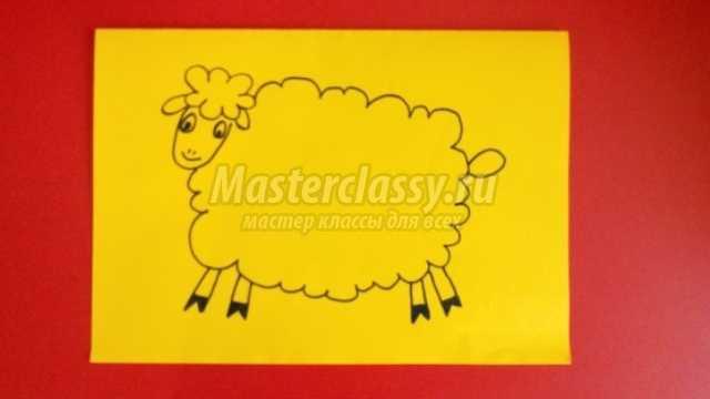 Овца своими руками