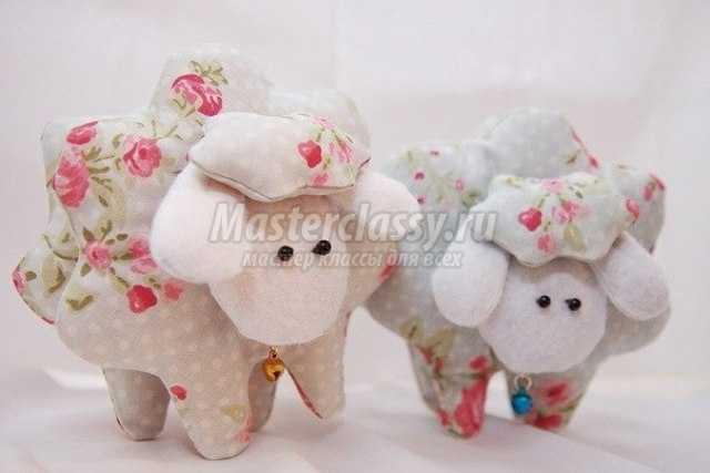 Игрушки овечек своими руками