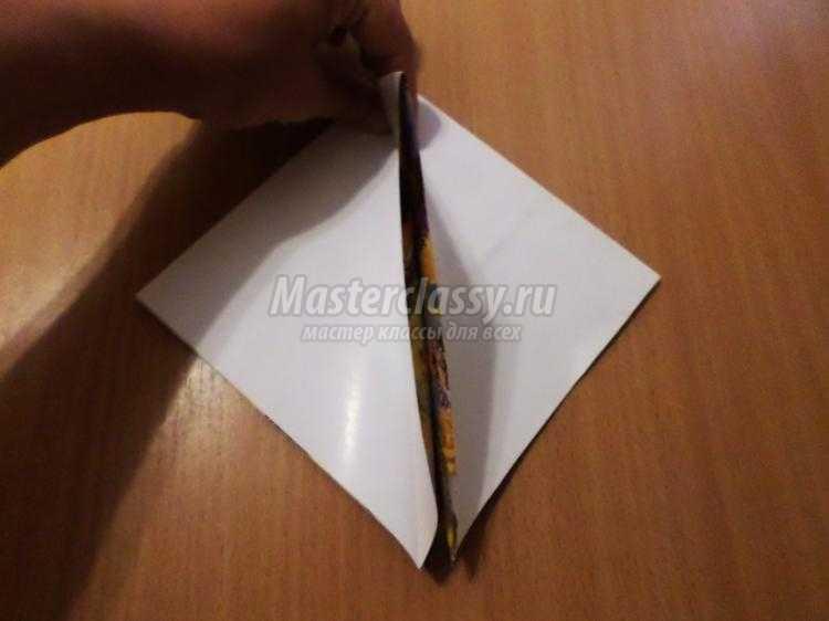 Кукла-оригами из бумаги