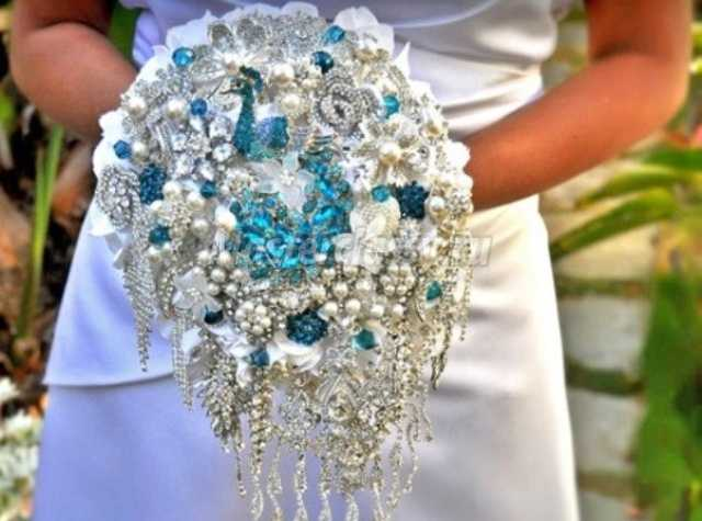 Сделать букет невесты пошаговое фото