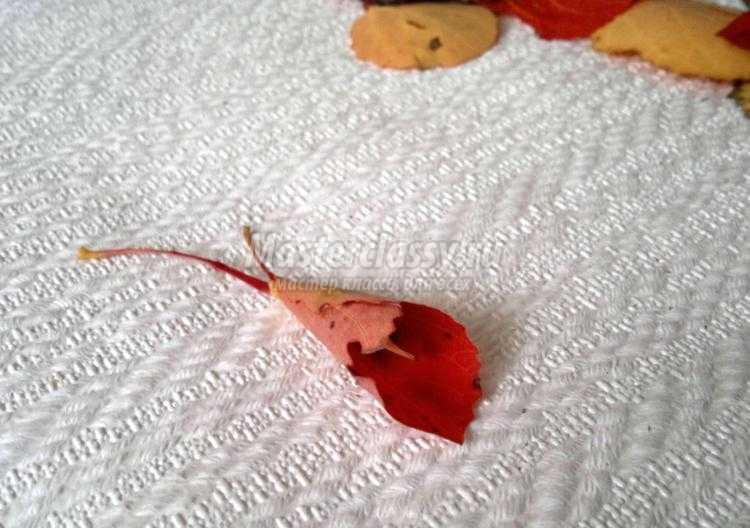 1411824337_3 Букет из осенних листьев и рябины своими руками. Мастер-класс с пошаговыми фото