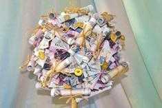 Топиарий денежное дерево. Мастер-класс с пошаговыми фото