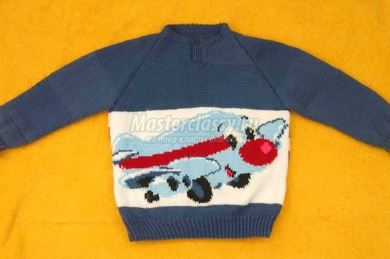 свитер для мальчика