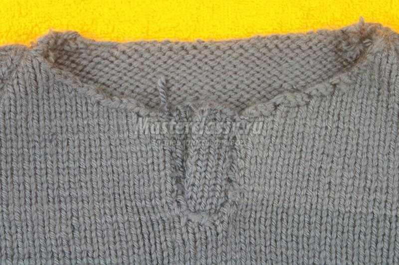 свитер своими руками