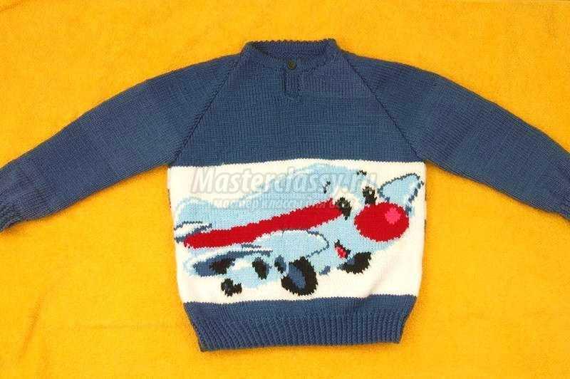 свитер мастер-класс