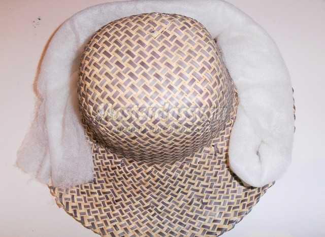 Шляпа гриба для ребенка своим руками