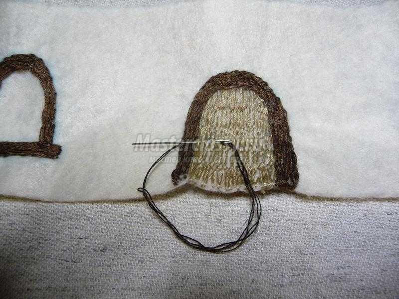 шкатулка вышивка лентами
