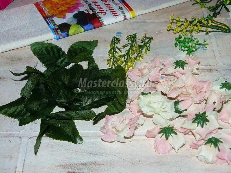 топиарий нежные розы
