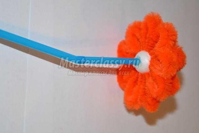 Цветок из проволоки пошагово