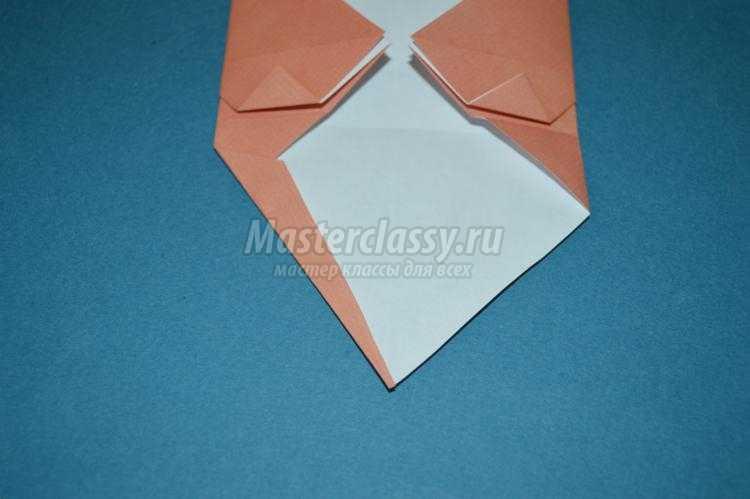 оригами животные. Котенок