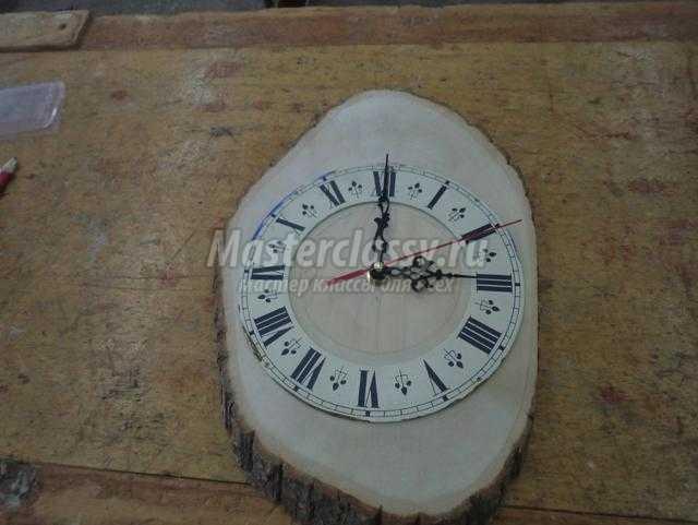 часы из дерева своими руками. Осеннее вдохновение