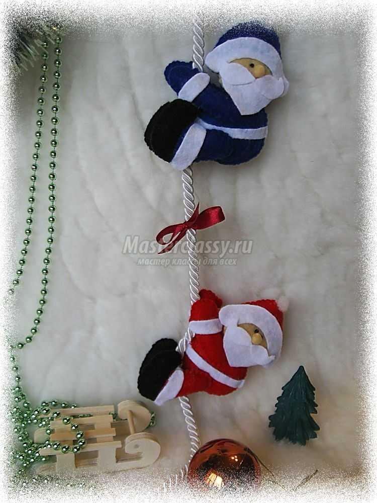 Новогодняя гирлянда Морозки