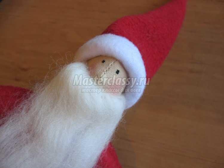 Санта со звездой