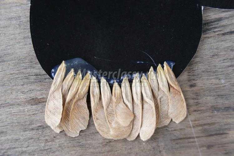 поделки из природных материалов. Сова