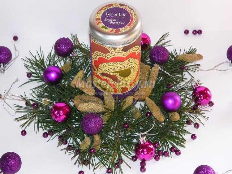 эксклюзивный чай в подарок к Новому году