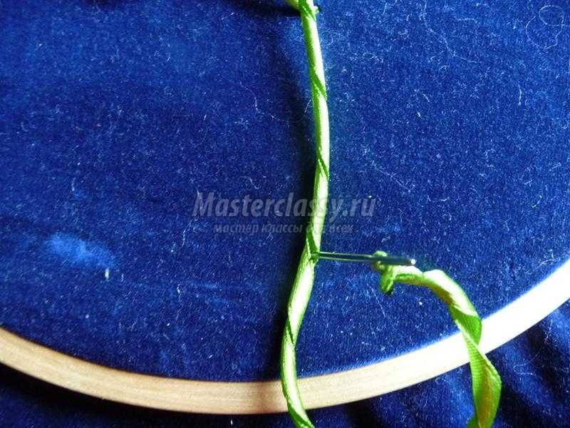 Вышивка лентами схемы