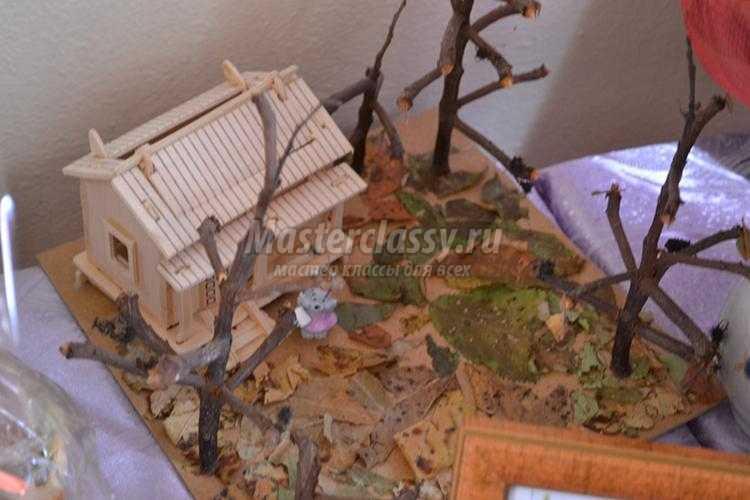 осенние поделки из природных материалов для выставок