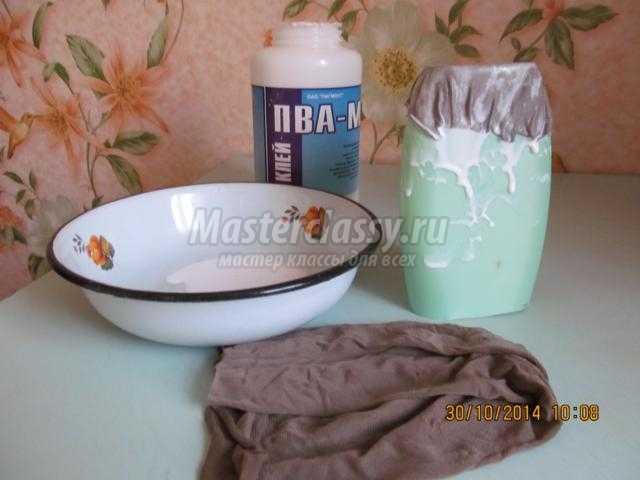 Холодный фарфор ваза своими руками из 990