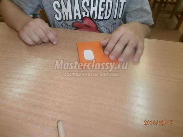 игрушка в технике оригами. Собачка