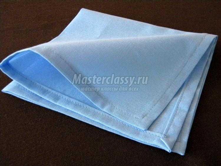Салфетки из ткани своими руками фото
