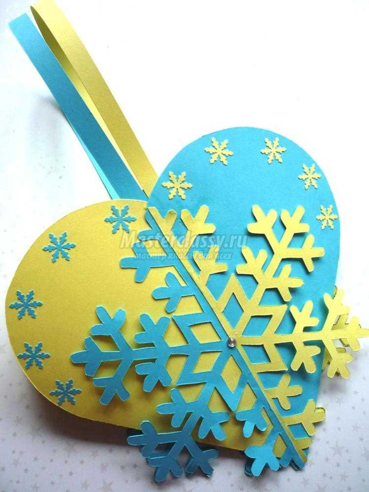 киригами. Резная корзинка-снежинка из бумаги