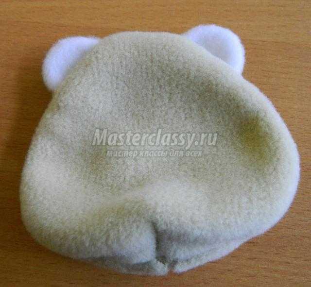 мягкая игрушка из флиса. Мишка