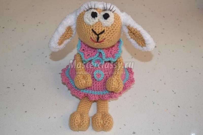 овечка ёлочная игрушка