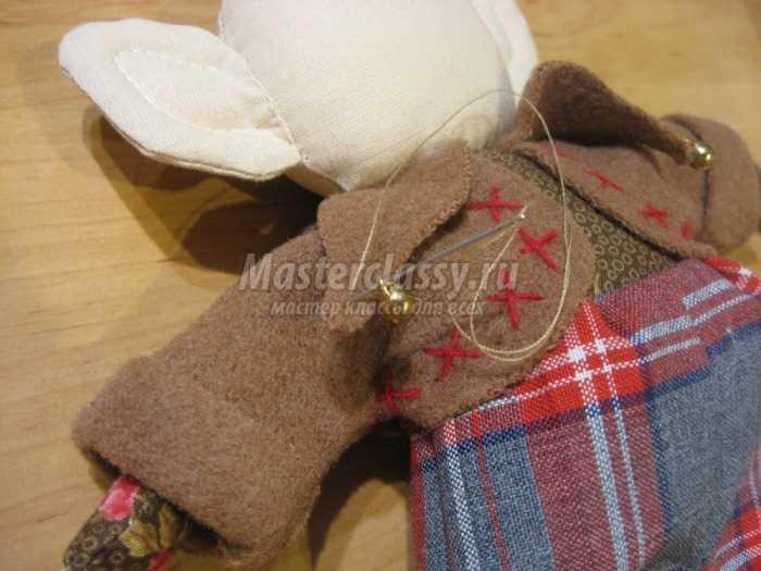 Текстильная игрушка эльф мастер класс
