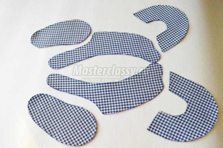 Пинетки для из ткани своими руками