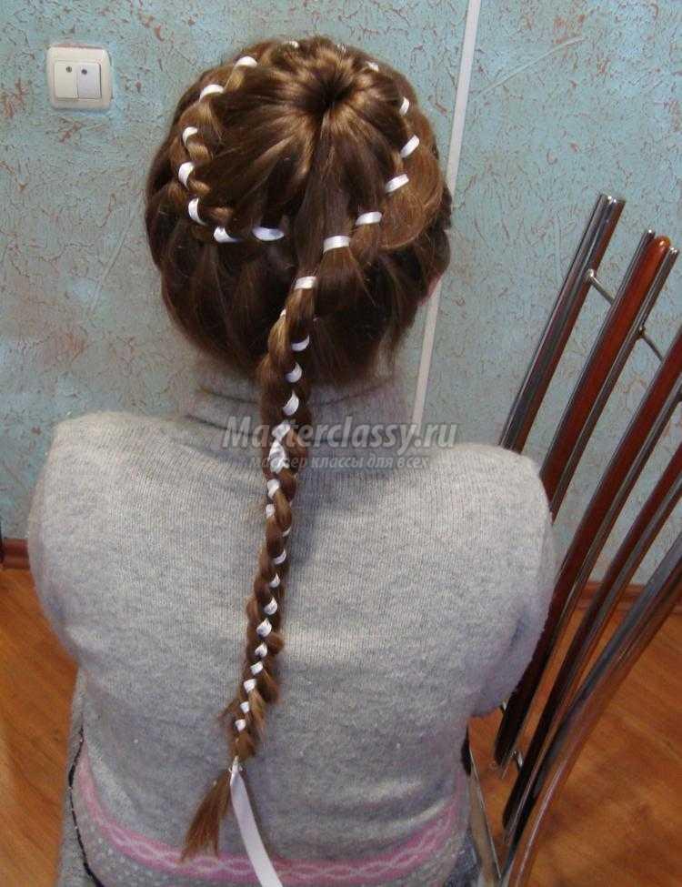 Прически для девочек.плетение кос 65