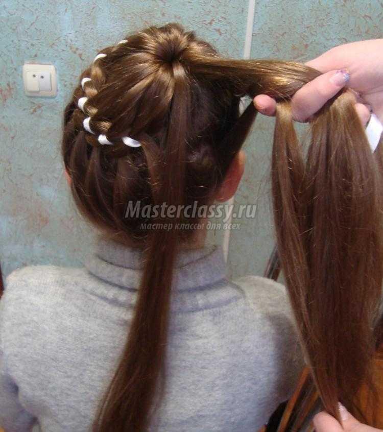 Прически для девочек.плетение кос 56