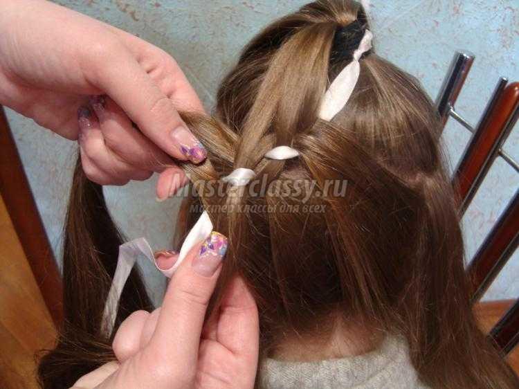 Прически для девочек.плетение кос 81