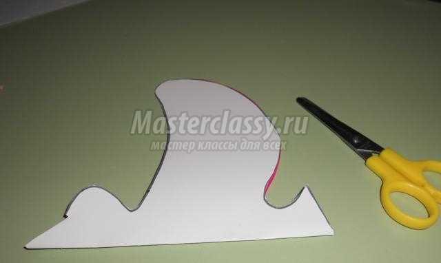 аппликация из бумаги с элементами рисования. Птицы