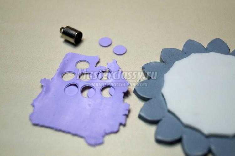 елочная игрушка из полимерной глины своими руками