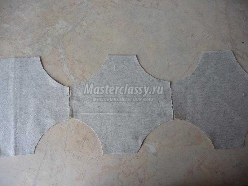 салфетка вышивка лентами
