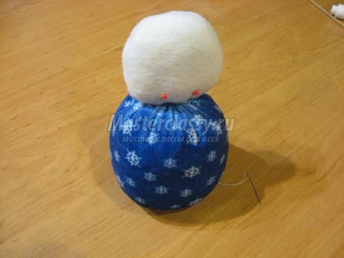 Снеговик своими руками