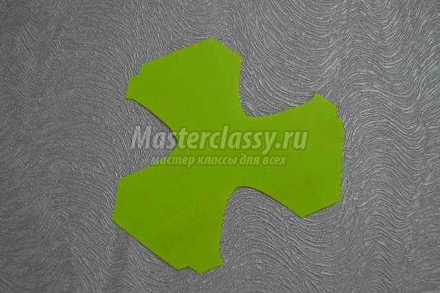 яркий шар из бумаги по схеме фрактал