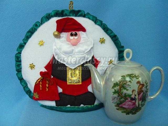 Новогодняя грелка для чайник