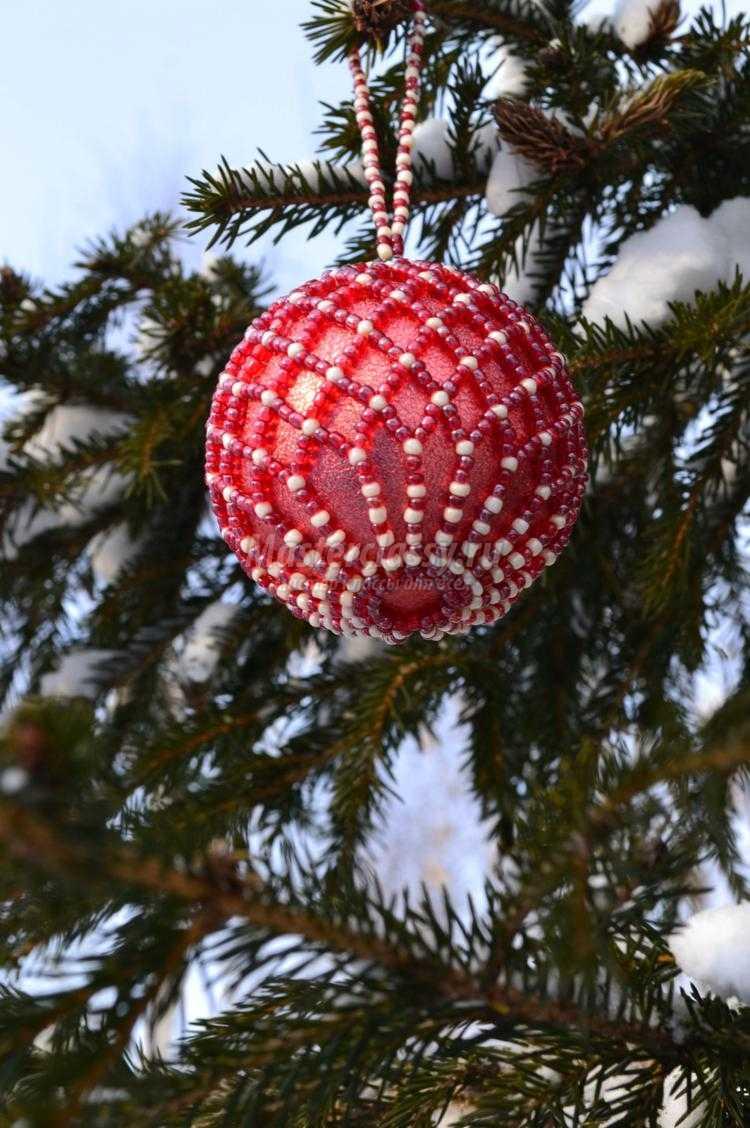Елочные шары своими руками мастер фото 375