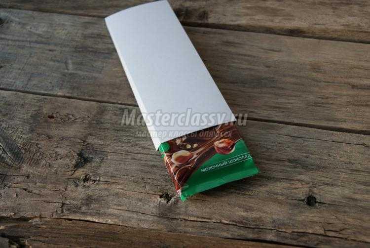 новогодняя упаковка для шоколада. Овечка