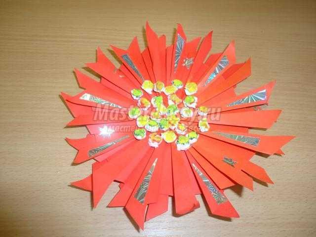 рождественская звезда из бумаги своими руками