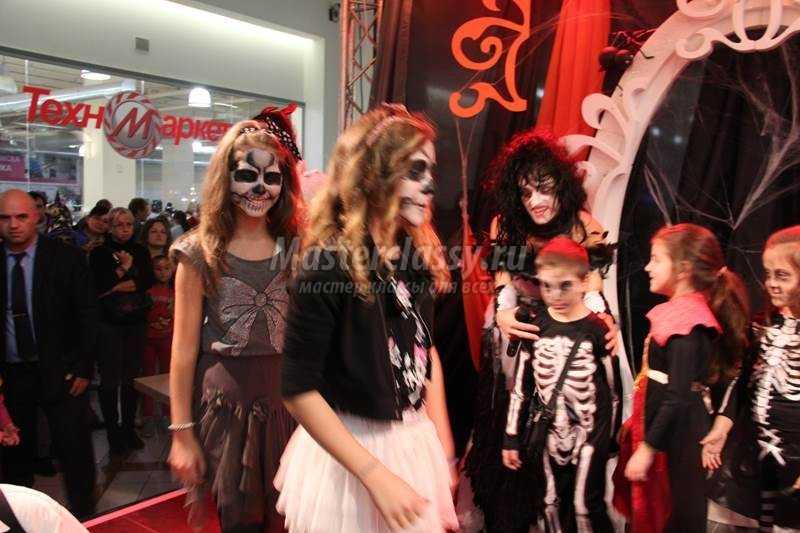 костюмы макияж на Хэллоуин Варна