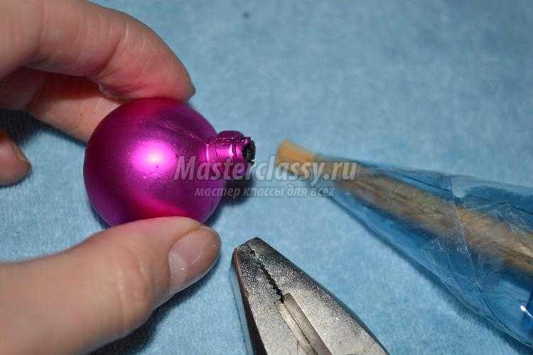 гламурная елочка из монет своими руками