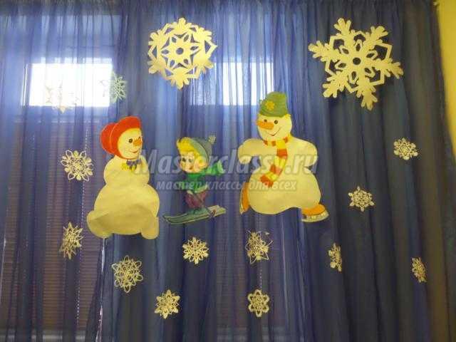 волшебные снежинки из бумаги своими руками