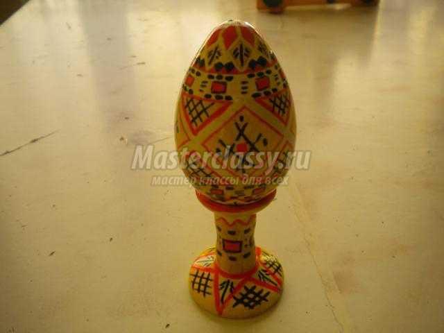 роспись пасхальное яйцо писанка