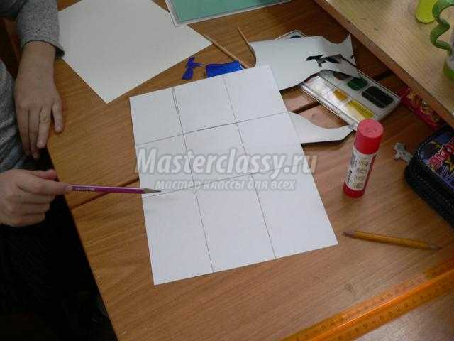 шкатулка из бумаги для влюбленных